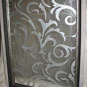 Для дома и интерьера ручной работы. Ярмарка Мастеров - ручная работа Орнаментальное зеркало в технике эгломизе. Handmade.