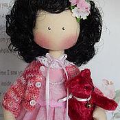 Куклы и игрушки ручной работы. Ярмарка Мастеров - ручная работа Текстильная интерьерная кукла НИНОЧКА. Handmade.