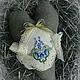 Куклы Тильды ручной работы. Ярмарка Мастеров - ручная работа. Купить сердечко текстильное. Handmade. Болотный, Вышивка крестом, лыко