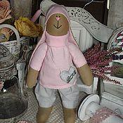 Куклы и игрушки ручной работы. Ярмарка Мастеров - ручная работа Влюбленный зайка. Handmade.