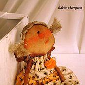 Куклы и игрушки ручной работы. Ярмарка Мастеров - ручная работа Текстильная кукла Анна 32 см.. Handmade.