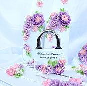 Свадебный салон ручной работы. Ярмарка Мастеров - ручная работа Свадебный замочек. Handmade.