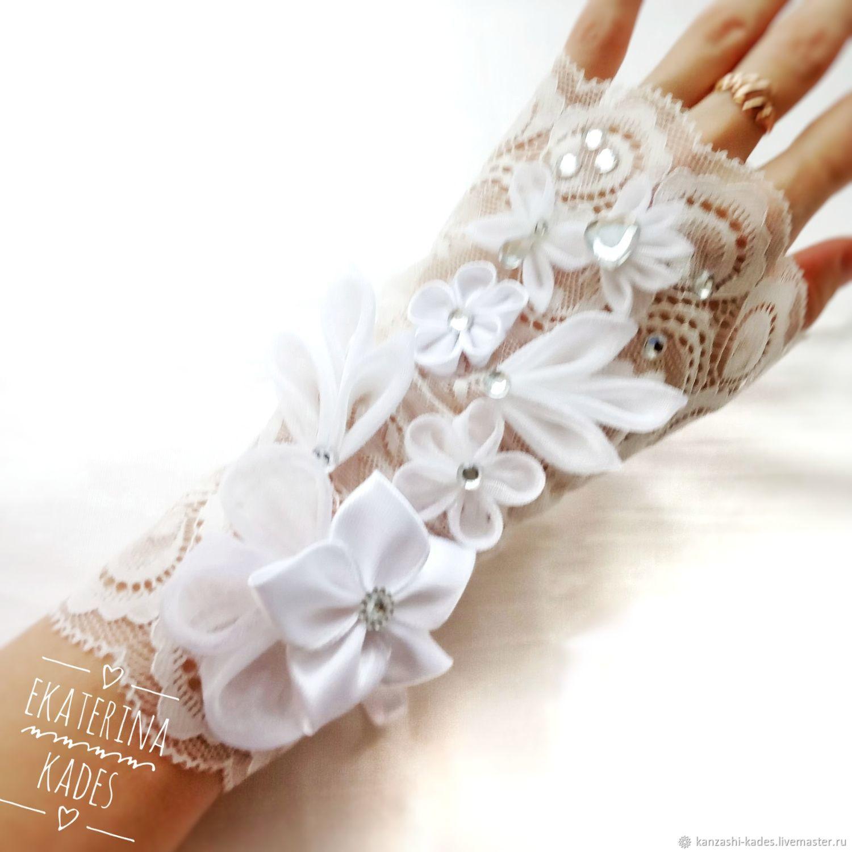 Минетки для невесты айвори