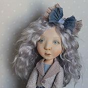 Куклы и игрушки ручной работы. Ярмарка Мастеров - ручная работа Мальвина кукла будуарная, 42 см. Handmade.