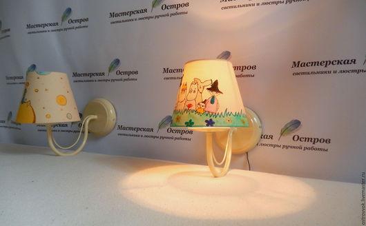 Детская ручной работы. Ярмарка Мастеров - ручная работа. Купить Освещение в детскую. Handmade. Комбинированный, освещение в детскую, для детской фотосессии