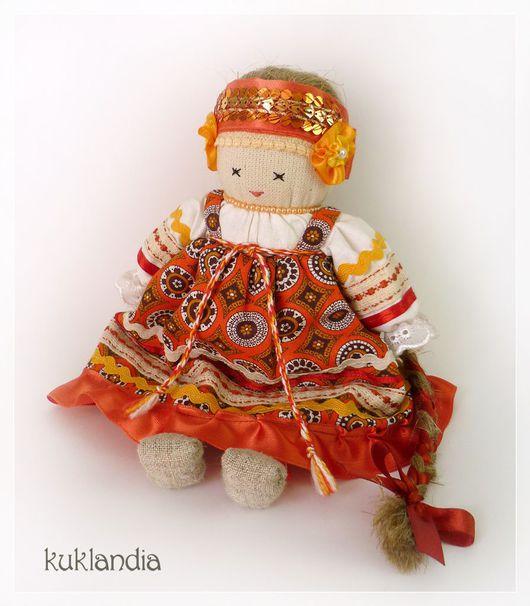 Народные куклы ручной работы. Ярмарка Мастеров - ручная работа. Купить Толстушка Костромушка. Handmade. Кукла, народная кукла, в подарок