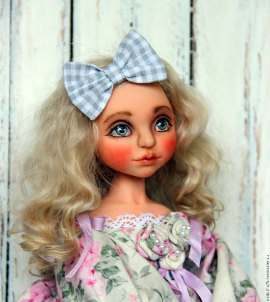 Коллекционные куклы ручной работы. Ярмарка Мастеров - ручная работа. Купить Коллекционная кукла Полинка. Handmade. Коллекционная кукла