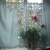 Для дома и интерьера handmade. Livemaster - original item The curtains on the window. Handmade.