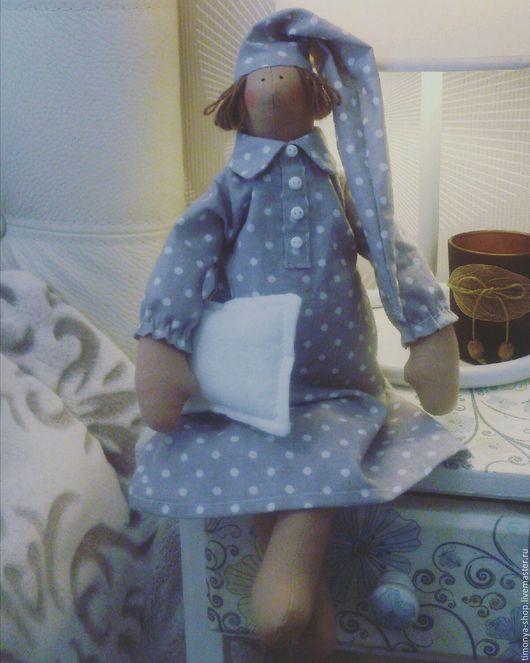 Куклы Тильды ручной работы. Ярмарка Мастеров - ручная работа. Купить Тильда сплюшка. Handmade. Тильда, подарок женщине, спальня