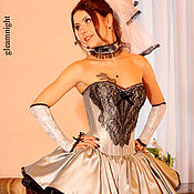 Свадебный салон handmade. Livemaster - original item Wedding dress in the Lolita style. Handmade.
