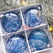 Подарки к праздникам handmade. Livemaster - original item Magic balls on the Christmas tree. Handmade.