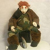 Куклы и пупсы ручной работы. Ярмарка Мастеров - ручная работа Рыбак -Этого не может быть. Handmade.