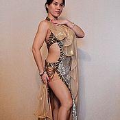"""Одежда ручной работы. Ярмарка Мастеров - ручная работа Костюм для танца живота """"Золото Египта"""". Handmade."""