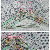 Для дома и интерьера ручной работы. Ярмарка Мастеров - ручная работа Вешалки-плечики (пара) в винтажном стиле.. Handmade.