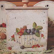 """Для дома и интерьера ручной работы. Ярмарка Мастеров - ручная работа """"Ягодный микс"""", короб для  дома. Handmade."""