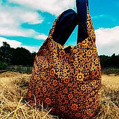 Сумки и аксессуары handmade. Livemaster - original item Bag-double-sided bag: ROBONYANYA. Handmade.