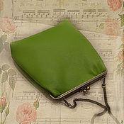 Сумки и аксессуары handmade. Livemaster - original item Leather handbag