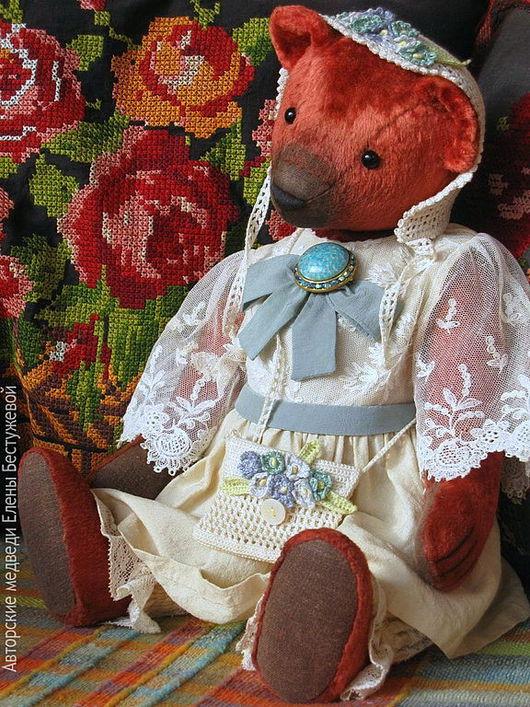 Мишки Тедди ручной работы. Ярмарка Мастеров - ручная работа. Купить Лиза. Handmade. Мишки тедди, Плюшевый мишка, белый