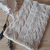 Работы для детей, handmade. Livemaster - original item Plaid knitted for children. Handmade.