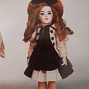 Материалы для творчества ручной работы. Ярмарка Мастеров - ручная работа Выкройка тела антикварной куклы Bru . Размер куклы 38 см.. Handmade.