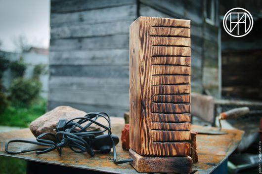 Освещение ручной работы. Ярмарка Мастеров - ручная работа. Купить Roots. Handmade. Дерево, garage, москва, егорьевск, Дерево натуральное