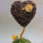 Цветы и флористика ручной работы. Ярмарка Мастеров - ручная работа Топиарий, кофейное дерево. Handmade.