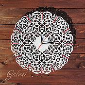 Для дома и интерьера ручной работы. Ярмарка Мастеров - ручная работа Часы ажурные настенные. Handmade.