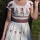 """Платья ручной работы. Платье """"Мечта"""". Лариса Ряднова 'Лада Мода'. Ярмарка Мастеров. Льняное платье"""