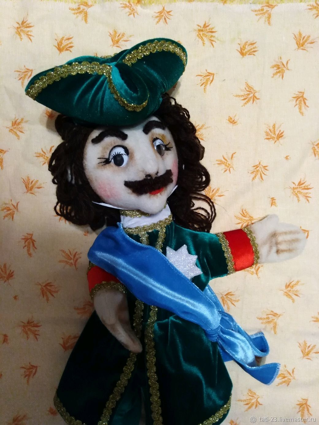 1 Peter. Theatre glove puppet, Puppet show, Voronezh,  Фото №1