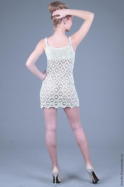 Платья ручной работы. Ярмарка Мастеров - ручная работа. Купить Платье , арт.  12-1-17. Handmade. Белый