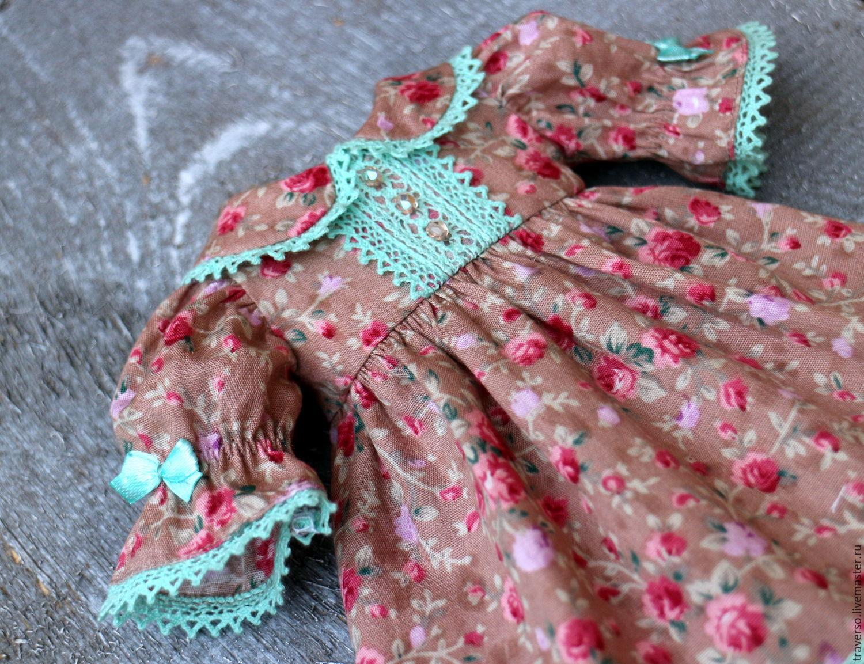 "Платье для куклы ""Романтика"", Одежда для кукол, Санкт-Петербург, Фото №1"