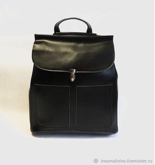 7b166d86098d Рюкзаки ручной работы. Ярмарка Мастеров - ручная работа. Купить Женская  сумка рюкзак кожаный трансформер ...