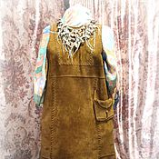 Одежда ручной работы. Ярмарка Мастеров - ручная работа Сарафан- этно-стиль. Handmade.