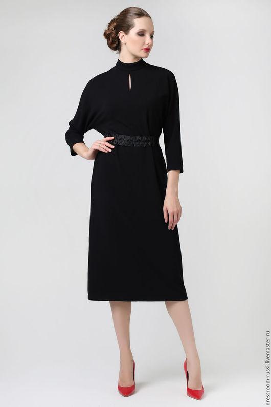 Платья ручной работы. Ярмарка Мастеров - ручная работа. Купить Платье черное. Handmade. Черный, платье на каждый день
