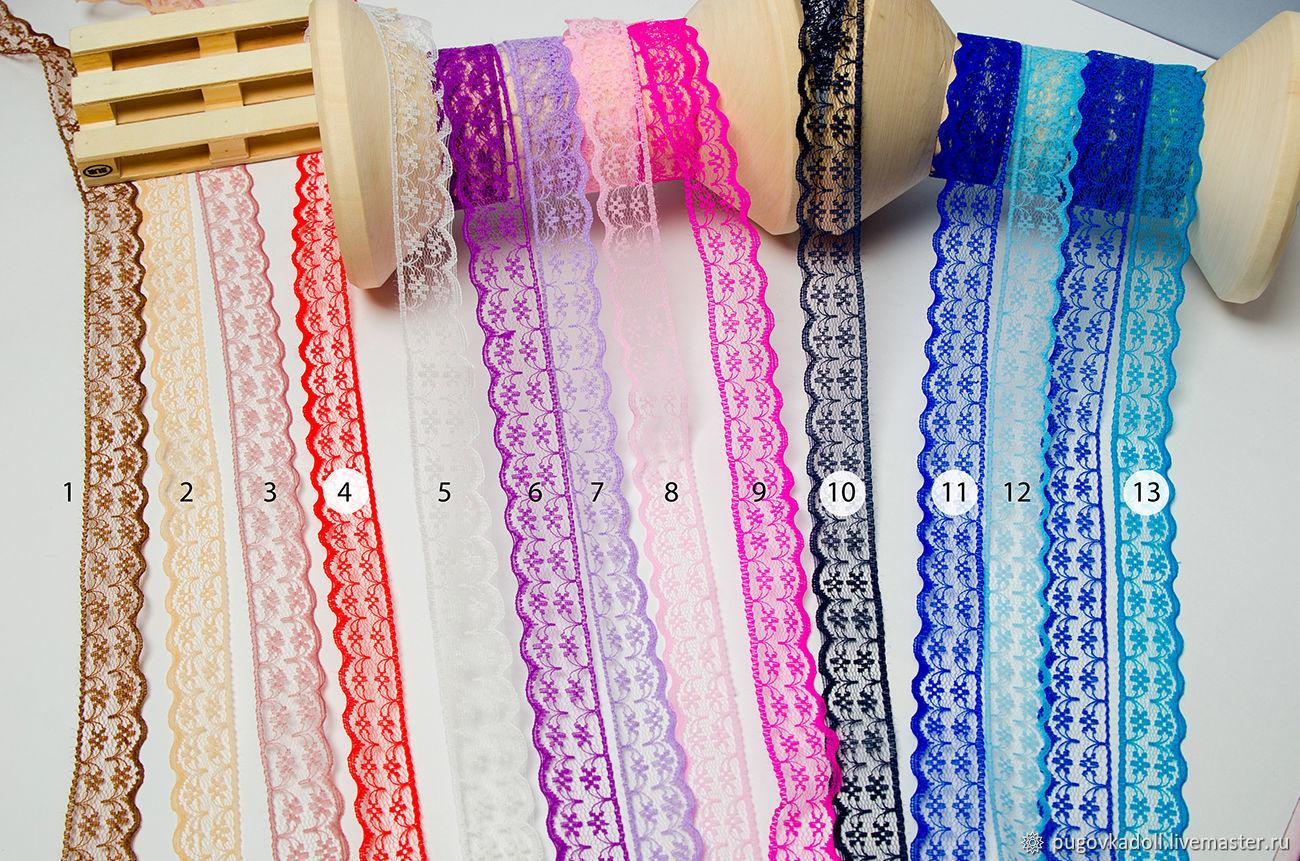 tape: Ribbon decorative nylon lace, Ribbons, Moscow,  Фото №1