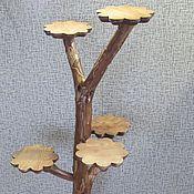 Для дома и интерьера handmade. Livemaster - original item stand, stand for flowers, flower girl. Handmade.