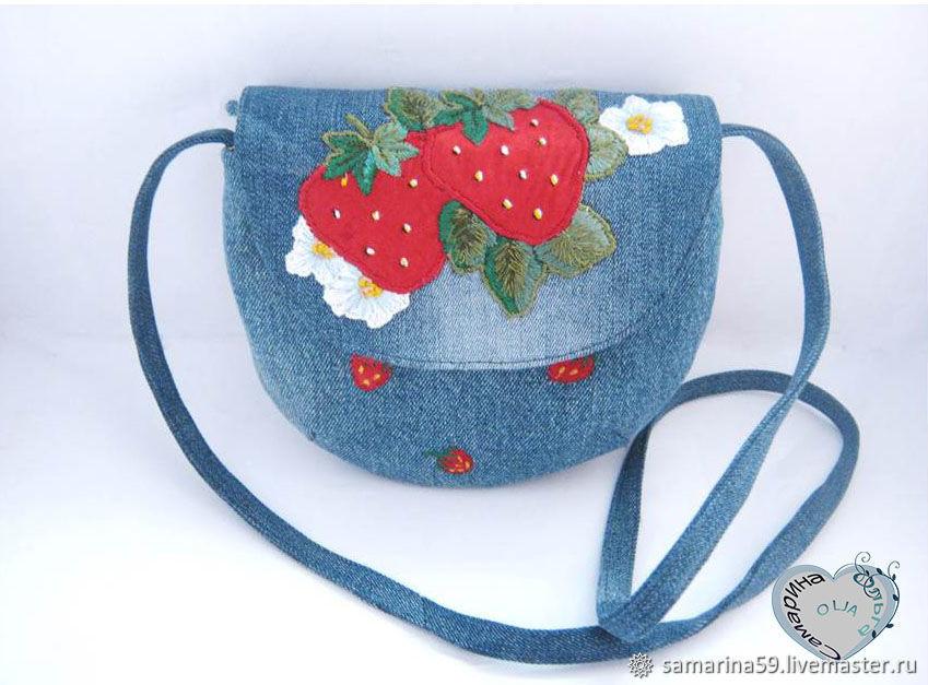 Bag for girls shoulder bag strawberry bag for phone, Bags, Gelendzhik,  Фото №1