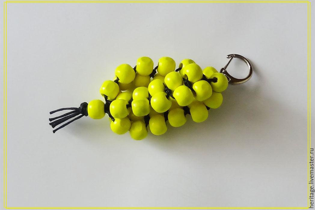 'Prince Lemon' or 37 beads Keychain, Key chain, Moscow,  Фото №1