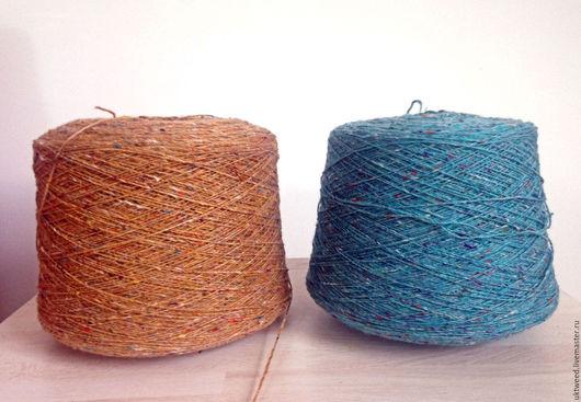 Вязание ручной работы. Ярмарка Мастеров - ручная работа. Купить Soft Donegal Tweed -100% меринос. Handmade. Розовый