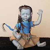 Куклы и игрушки ручной работы. Ярмарка Мастеров - ручная работа аватар -девочка. Handmade.