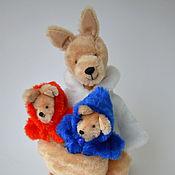 Куклы и игрушки ручной работы. Ярмарка Мастеров - ручная работа Кенгуру. Handmade.