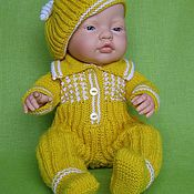 """Куклы и игрушки ручной работы. Ярмарка Мастеров - ручная работа Комплект для куклы """"Солнечный малыш"""". Handmade."""