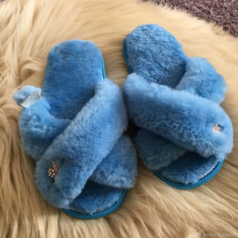 Тапочки из натуральной овчины, Тапочки, Нальчик, Фото №1