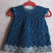 Работы для детей, ручной работы. Ярмарка Мастеров - ручная работа Нарядное платье на девочку. Handmade.