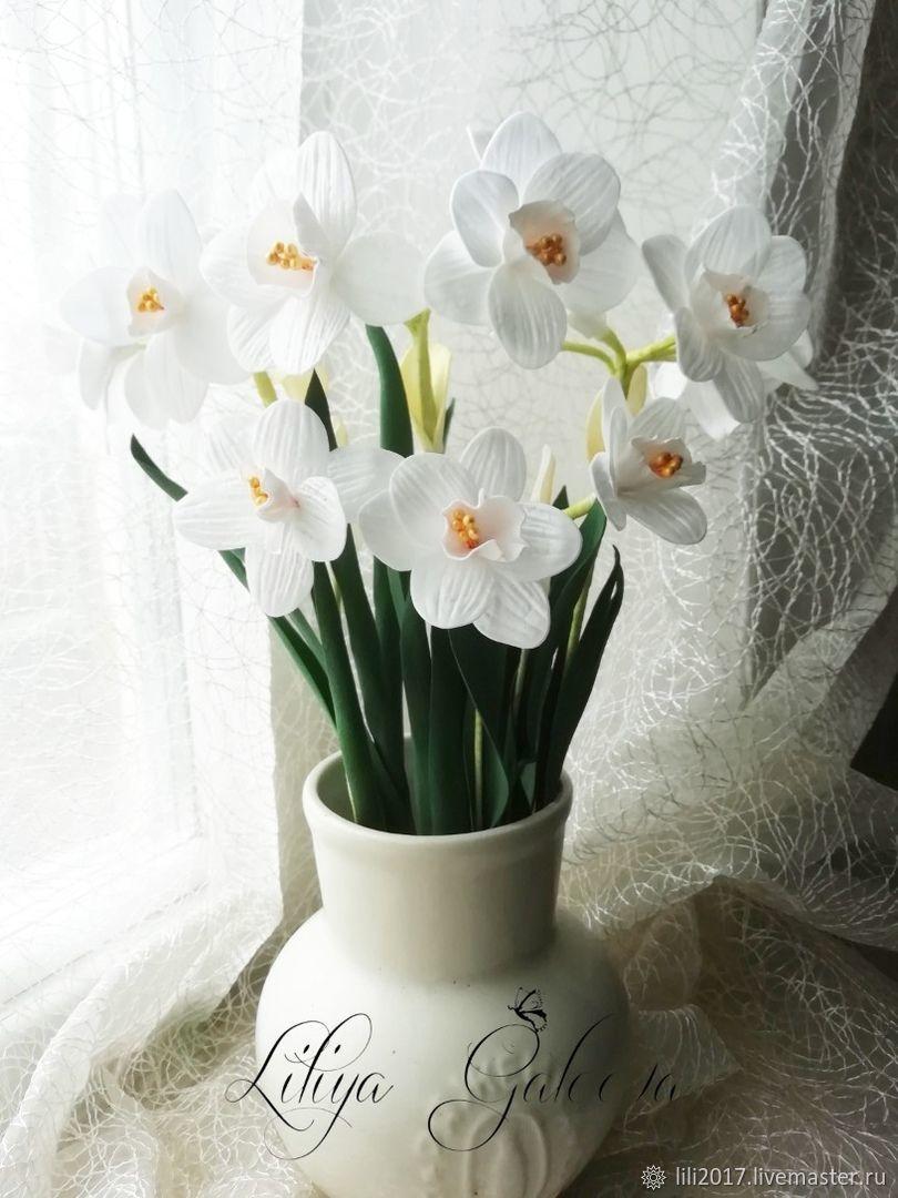 Нарциссы, Цветы, Муслюмово, Фото №1