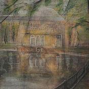 Картины и панно ручной работы. Ярмарка Мастеров - ручная работа Патриаршие пруды 5. Handmade.