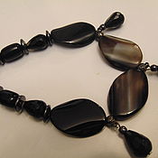 Украшения handmade. Livemaster - original item Necklace from natural agate. Handmade.