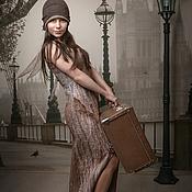 Одежда handmade. Livemaster - original item Nanovolokna dress Back to the future. Handmade.