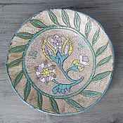 Посуда handmade. Livemaster - original item Ceramic dish 31cm