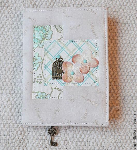 Блокноты ручной работы. Ярмарка Мастеров - ручная работа. Купить Винтажный блокнот для записей. Handmade. Бежевый, блокнот, блокнот для девушки